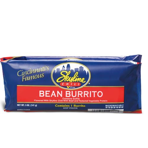 Frozen Bean Burrito 5 oz.