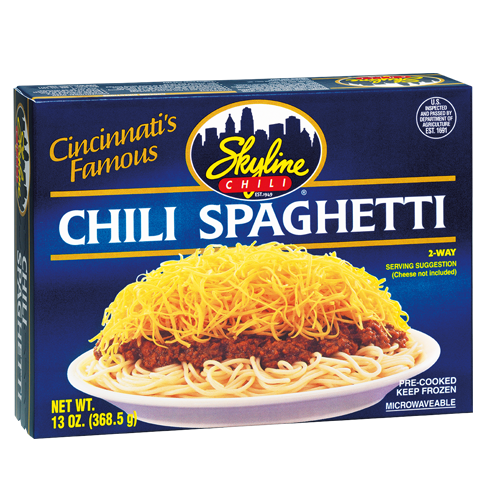 Frozen Chili Spaghetti 13 oz.