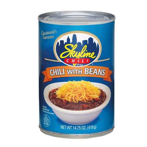Canned Chili with Beans 15 oz.