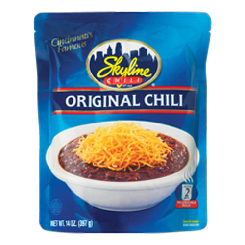Microwave Pouch Original Chili 14 oz.