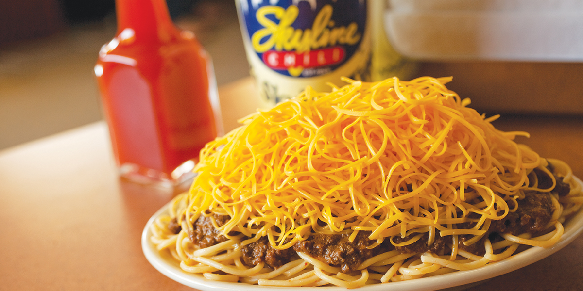 Skyline Chili 3-Way Spaghetti